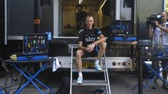 Tour de France 2013 photo gallery - ITV, second rest day and the media wants to interview Chris Froome.