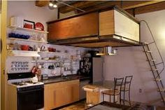 industrial loft ceiling hanging - Google Search