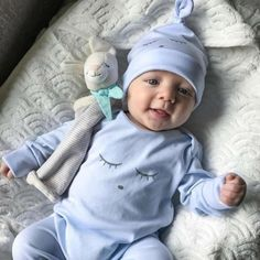 Newest Autumn Spring UK Newborn Infant Baby Girl Boy Romper Jumpsuit Babygrows Gowns Hat Outfits Boys Baby Fashion So Cute Baby, Baby Kind, Cute Baby Clothes, Cute Kids, Stylish Clothes, The Babys, Foto Baby, Cute Baby Pictures, Sleeping Baby Pictures