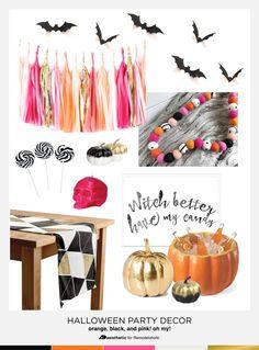 Halloween Party Deco