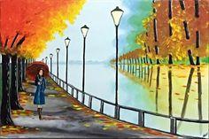 Autumn Tranquility 3 by Aisha Haider