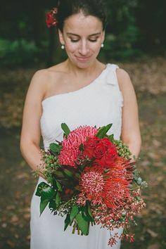 Red Australian Native Bouquet