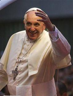 Su pensamiento social revela más que un papa bueno y sonriente - 24.07.2013 - lanacion.com