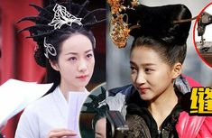 Strange Hairstyles in Chinese Historical Dramas