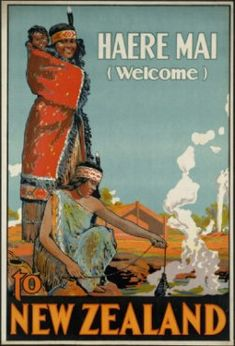 Australia new zealand Vintage Map Print poster paper for glass frame 900mm