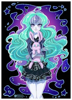 Gallery For > Monster High Twyla Art