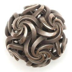 Math Craft Inspiration of the Week: The Polyhedral Metal Sculptures of Vladimir Bulatov