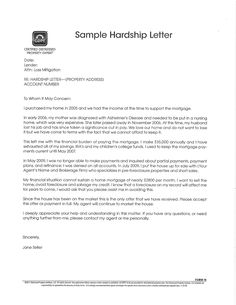 hardship letter you dont need to polish your letter and allow it to be neat on formatted an excellent letter ca
