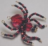 D.I.Y - Beaded Spider Free Tutorial