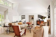 Not long ago, Architectural Digest made a selection of the best interior designers, with the opportunity to get to know their very private living rooms! Architectural Digest, Design Salon, Art Deco Design, Art Deco Zimmer, Living Room Designs, Living Spaces, Living Rooms, Art Deco Room, Living Room