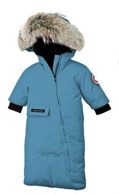 Canada Goose Baby Snow Bunting oro
