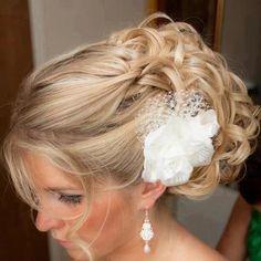 cool idea for wedding #hair