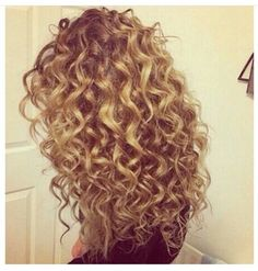 Crazy curly hair - love it