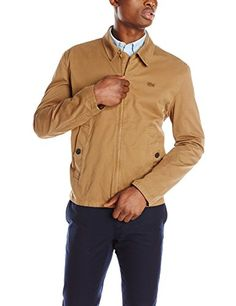 Lacoste Men's Cotton Twill Jacket  http://www.allmenstyle.com/lacoste-mens-cotton-twill-jacket-2/