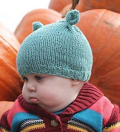 Cotton is nice and soft for babies, plus the hat is totally adorable. Parents will love it and it makes a perfect last-minute gift. The pattern features three different sizes and three brim styles.