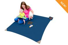Monkey Mat® - Blue Y