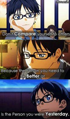 Arima kousei words it's beautiful ^^