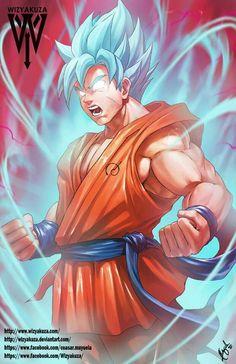 Son Goku(SSGSS KAIOKEN ×10) - Visit now for 3D Dragon Ball Z compression shirts now on sale! #dragonball #dbz #dragonballsupe