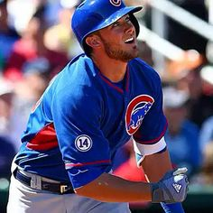 Kris Bryant's current Spring line after another huge game yesterday: .450/.522/1.400. Yes, his OPS is just shy of 2.000 (and yes, it leads baseball). His strikeout rate has been just 21.7%, and his walk rate has been 13.0%. Of course, this is all in just 23 plate appearances, and it's just Spring Training. But the guy has 6 homers in 20 at bats. He's batting .300 ON HOMERS ONLY. via @bleachernation #chicagocubsnation #chicagocubsbaseball #chicagocubs #chicago #cubs #mlb