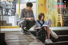 Im Soo-hyang and Cha Eun-woo were spotted behind the scenes of their latest drama 'My ID is Gangnam Beauty'. Kdrama, Korean Couple, Best Couple, Live Action, Cha Eunwoo Astro, Web Drama, Weightlifting Fairy Kim Bok Joo, Cha Eun Woo, Drama Movies