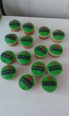 ^^ heineken cupcakes