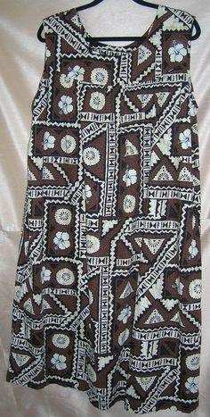 ce9b3776160e4 Ui-Muikai Hawaiian Lounger Swim Suit Cover Muumuu Bust 46