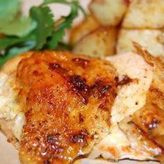 Poulets rôtis à basse température