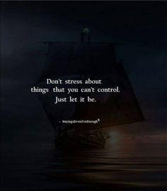 Don't over stress things..