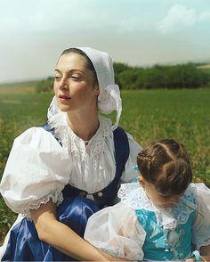 Myjava, Slovakia Folk Costume, Costumes, Homeland, Folklore, Ruffle Blouse, Culture, Memories, Woman, People
