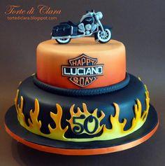 Harley+Davidson+cake