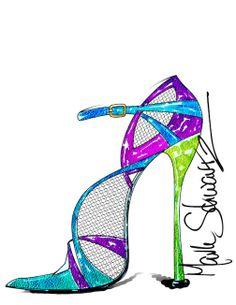 MARK SCHWARTZ - DESIGN www.markschwartzshoedesigner.com