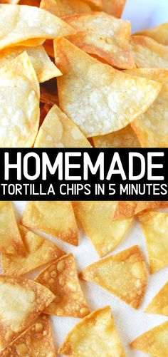 Homemade Corn Tortilla chips from corn tortillas, be munching down on your own homemade Mexican chips, freshly made and incredibly delicious Homemade Corn Tortillas, Homemade Chips, Homemade Tortilla Chips Baked, Ranch Pasta, Mexican Chips, Corn Tortilla Recipes, Slow Cooker, Sandwiches, Appetizers