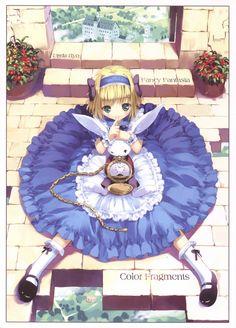 Chibi Alice is soooo cute ! \(^-^)/ <3