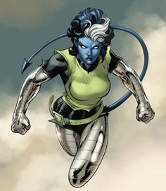 Rogue Powered Up By Nightcrawler and Colossus i want to see her in all kinds of different powered up ways