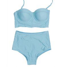 Plus Size Bikini  Summer Womens Vintage High Waisted Push Up Bikini Set Swimwear Swimsuit S M L XL XXL -  http://mixre.com/plus-size-bikini-summer-womens-vintage-high-waisted-push-up-bikini-set-swimwear-swimsuit-s-m-l-xl-xxl/  #BikinisSet
