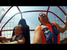 Parker Jax Ward and I conquer the CATAPULT at Mt. Olympus in Wisconsin D...