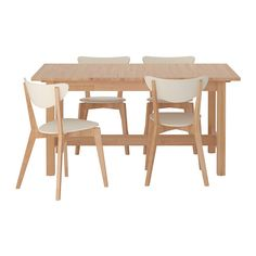 IKEA NORDEN / NORDMYRA Table and 4 chairs