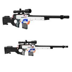 Details about Worker MOD AWP Sniper Scope Imitation Kit for Nerf Retaliator Modify Toy - Ideas of Nerf Gun - Worker MOD AWP Sniper Scope Imitation Kit for Nerf Retaliator Modify Toy Toy Nerf Guns, Nerf Snipers, Arma Nerf, Pistola Nerf, Modified Nerf Guns, Clearance Toys, Nerf Gun Storage, Nerf Mod, Luxury Sports Cars
