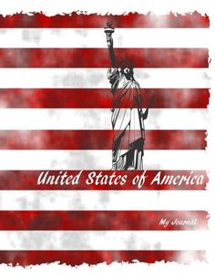 United States of America: A Patriotic Notebook/Journal with 110 Lined Pages x (My Journal is Your Journal) (Volume States In America, United States, Indie Books, Lined Page, Journal Notebook, Notebooks, Journals, Amazon, Amazons