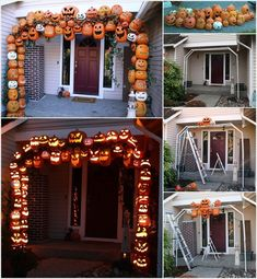 26 Best Indoor Halloween Decorations Ideas - Real Time - Diet, Exercise, Fitness, Finance You for Healthy articles ideas Halloween Prop, Whimsical Halloween, Halloween Door Decorations, Halloween 2020, Outdoor Halloween, Holidays Halloween, Halloween Pumpkins, Halloween Crafts, Happy Halloween