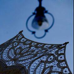 Burano lace umbrella ~ from ... Burano!