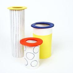 des vases tout en couleurs ... - l'atelier des garçons