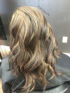 Balayage highlights with a brazilian blowout beautiful hair balayage highlights pmusecretfo Image collections