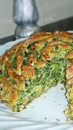 SPINACH SALT CAKE Hello everyone. As I mentioned yesterday I do archive cleaning and continue with the food of the season Pasta Cake, Good Food, Yummy Food, Different Cakes, Cooking Recipes, Healthy Recipes, Breakfast Items, Turkish Recipes, Vegan Snacks
