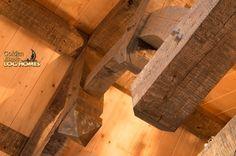 Golden Eagle Log Homes: Log Home / Cabin Pictures, Photos: Pool House/Pub - Log Outside - Timber Inside