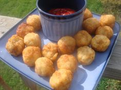 Bring some fun to you game day cookout with this simple tater tots recipe from Food.com