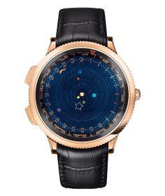 La montre Poétique Midnight Planétarium de Van Cleef & Arpels http://www.vogue.fr/joaillerie/le-bijou-du-jour/diaporama/la-montre-poetique-midnight-planetarium-de-van-cleef-arpels-sihh-2014/17341