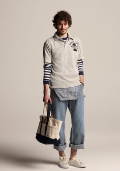 Champion Japan Spring Summer 2013 Lookbook - understanding the layering of sweats