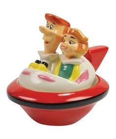 George & Jane Salt and Pepper Shakers by Westland Giftware Disney Cake Toppers, Disney Cakes, Wedding Cake Toppers, Salt N Peppa, Westland Giftware, The Jetsons, Marvin The Martian, Salt And Pepper Set, Salt Pepper Shakers