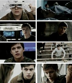 Ben Parish (Nick Robinson) The 5th Wave movie, 2016
